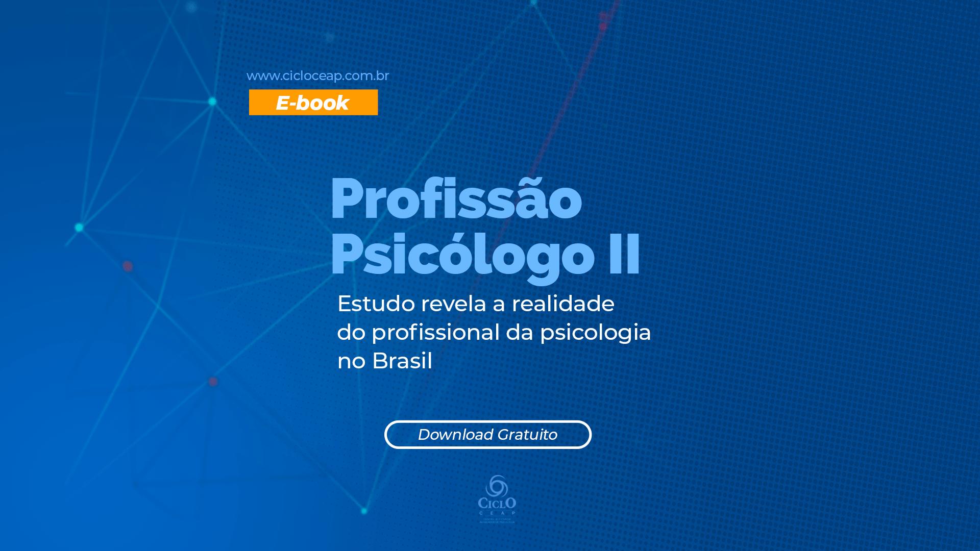 Profissão Psicólogo