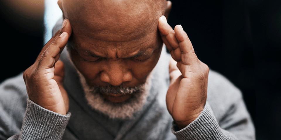 Quais são as consequências emocionais e comportamentais de um AVC?